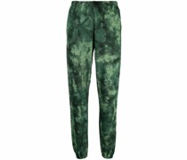 all-over graphic print trackpants