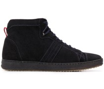 High-Top-Sneakers aus Wildleder
