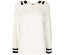 stripe detail jumper