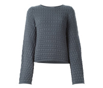 circle knit jumper