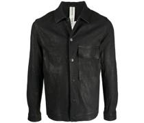 Hemdjacke aus Leder
