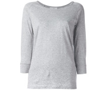 T-Shirt mit Dreiviertelärmeln
