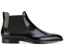 Chelsea-Boots mit Budapestermuster - men
