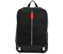 Rucksack mit mittigem Reißverschluss