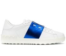 'Open' Sneakers mit Kontrasteinsatz