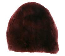 Mütze mit Hasenpelz