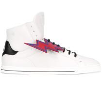 High-Top-Sneakers mit Blitzen - men