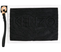 'Combo' Clutch - women - Nylon/Leder