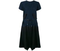 Kleid mit plissiertem Rock - women