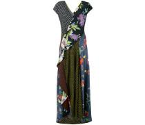 Seidenkleid mit Blumen-Print - women - Seide