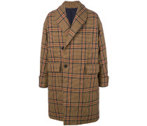 dislocated fastening down coat
