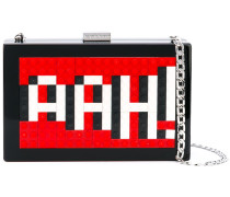 Clutch mit Lego-Applikationen