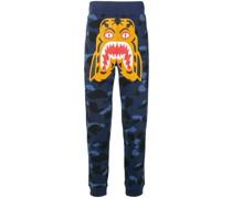 A BATHING APE® 'Camouflage Tiger' Jogginghose