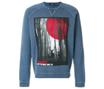 Into the Wood printed sweatshirt