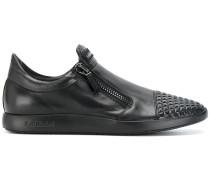 Slip-On-Sneakers mit Reißverschlüssen