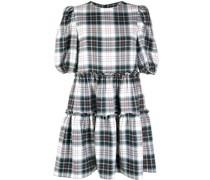 Smith tiered check print dress