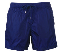 - logo plaque swimming trunks - men
