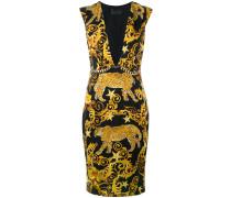 Kleid mit barokem Print