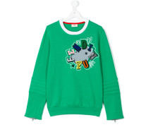 Fendi Fun patch sweatshirt - kids