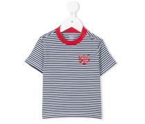'Breton' T-Shirt mit Anker-Stickerei - kids