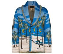 "Cardigan mit ""Venice Beach""-Print"