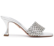 Crystal Candy Mules 75mm