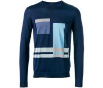 Pullover mit geometrischem Motiv - men