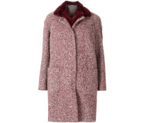 removable gilet-lined coat