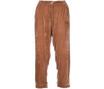 Giuliano cropped trousers