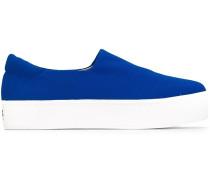Slip-On-Sneakers mit Plateausohle