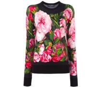 Pullover mit Rosen-Print