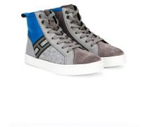 R141 hi-top sneakers