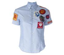 Hemd mit Patches - women - Baumwolle - 42