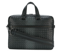 gradient spotted briefcase