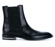 Chelsea-Boots mit Kettenverzierung