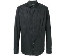 reconstructed bib shirt