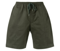 drawstring bermuda shorts