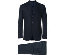 Zweiteiliger Anzug mit schmaler Pssform