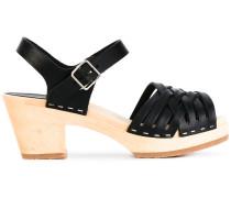 Sandalen mit geflochtenen Riemen