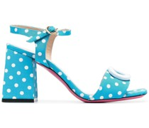Sandalen mit Polka Dots