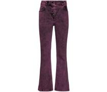 Jeans mit Acid-Waschung