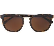tortoiseshell square frame sunglasses - men