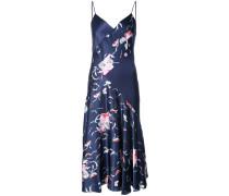 Camisole-Seidenkleid mit floralem Muster