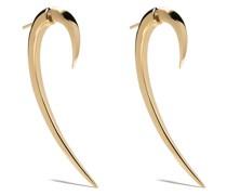 Große Ohrringe im Haken-Design