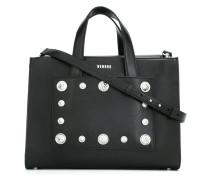 Handtasche mit Nieten - women - Leder
