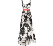 'Elvira' Kleid mit Blumen-Print