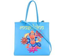 - Handtasche mit Affen-Print - women - Kalbsleder