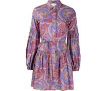 Hemdkleid mit Paisley-Print