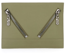 'Kalifornia' Clutch - women - Kalbsleder