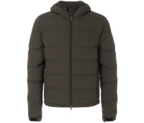 padded zip jacket